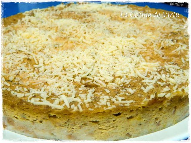 Pastel de Pan al Microondas