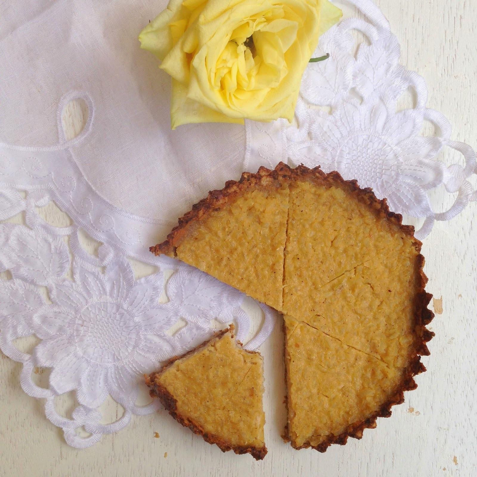 Semana de tartas y tortas: tarta de arroz integral