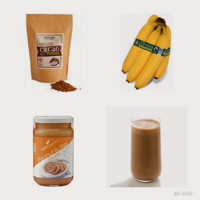 Cacao and Peanut Butter Smoothie