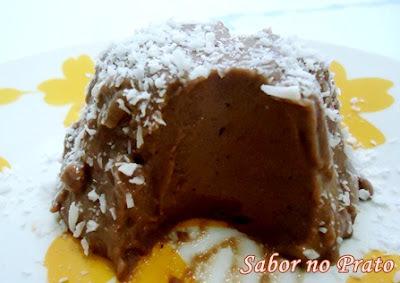 flan de chocolate de caixinha