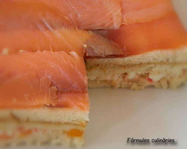 Pastís fred de salmó