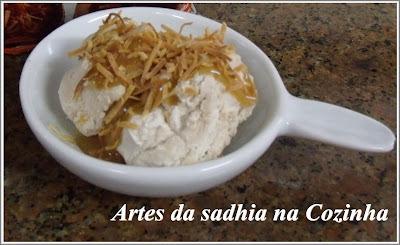 de sorvete de coco queimado picolé