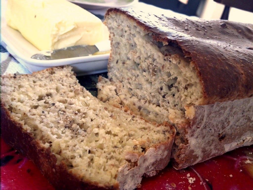 Pão de Forma sabor gergelim