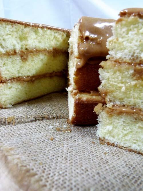 torta de caramelo sureña