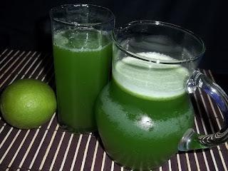Suco de couve e limão