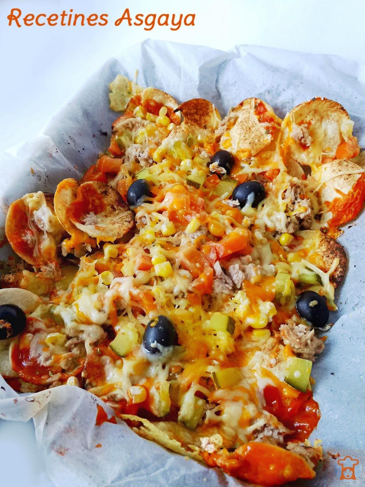 Snacks de Patata y Trigo al Horno