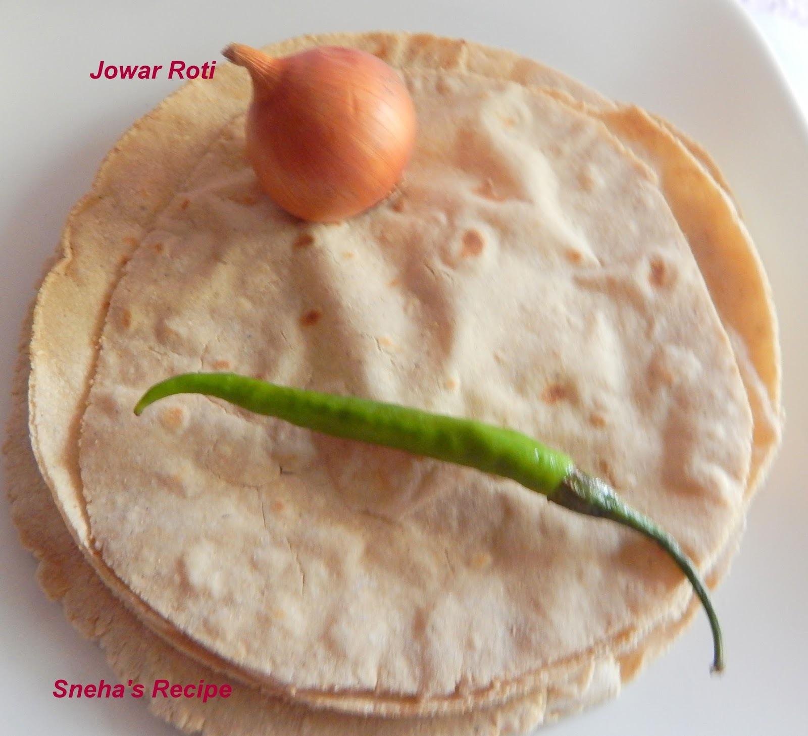 Jowar Roti / Indian Bread