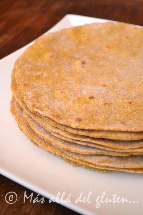Tortillas de Ahuyama / Calabaza (Receta GFCFSF, Vegana)