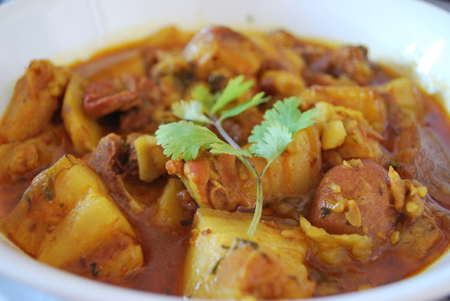naga pork curry