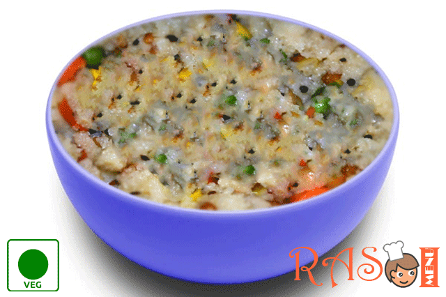 Instant Vegetable Upma Recipe - Quick Breakfast Recipe
