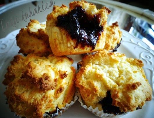 Muffini s pekmezom od šljiva
