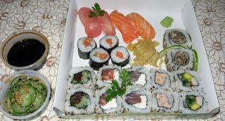 de raiz forte para sushi