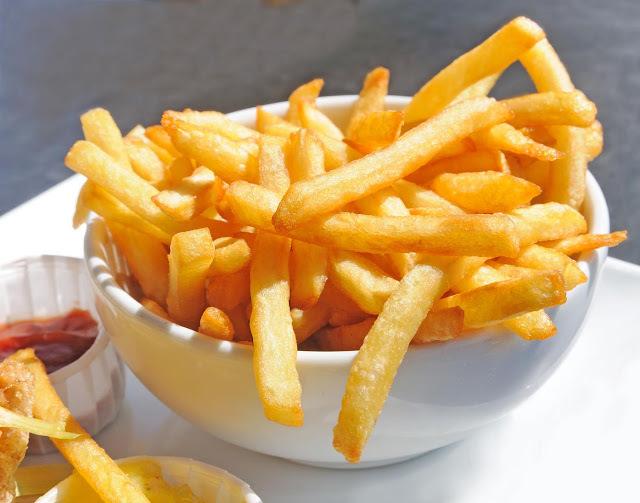 como conservar batata frita por mais tempo crocante