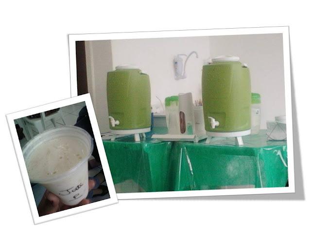 Substituindo o almoço pelos chás e shakes da Herbalife
