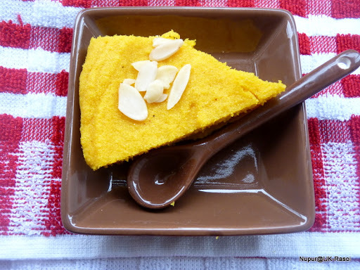No Bake Mango Cake : Instant and Healthy