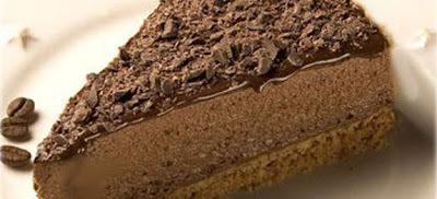 torta mousse de chocolate sem gelatina