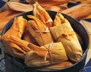 Ricos Tamales de Frijoles