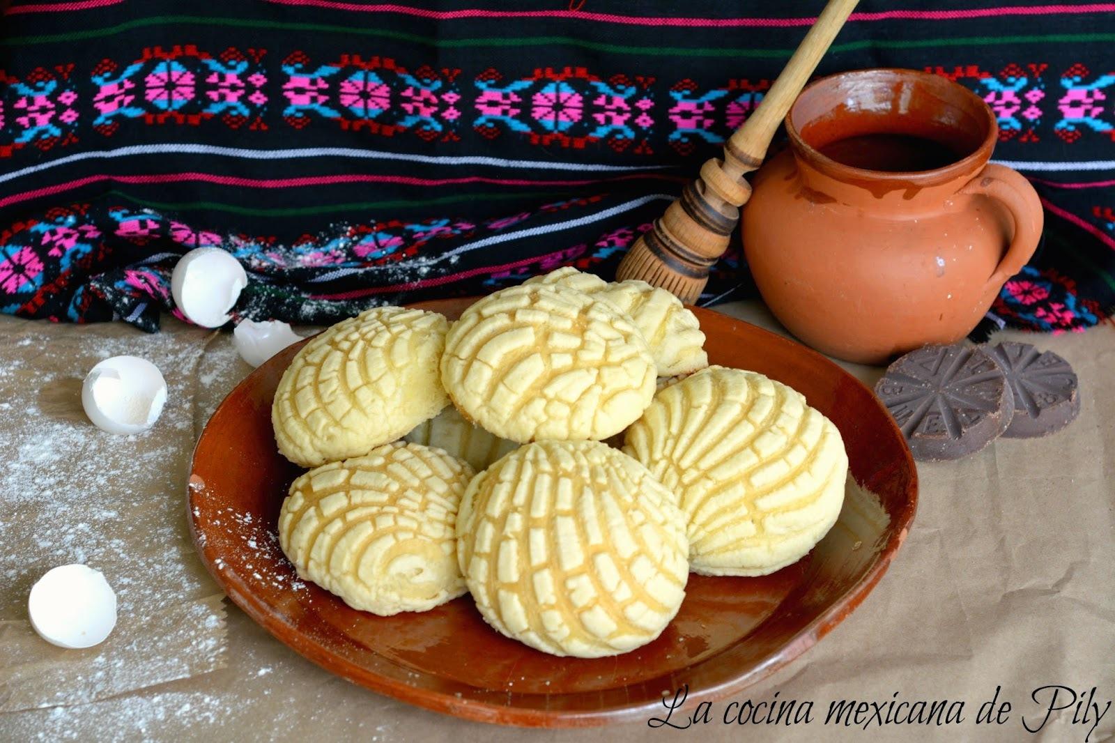 Conchas Caseras Tradicional Pan Mexicano