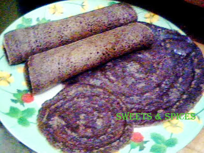 Finger millet Pan Cakes