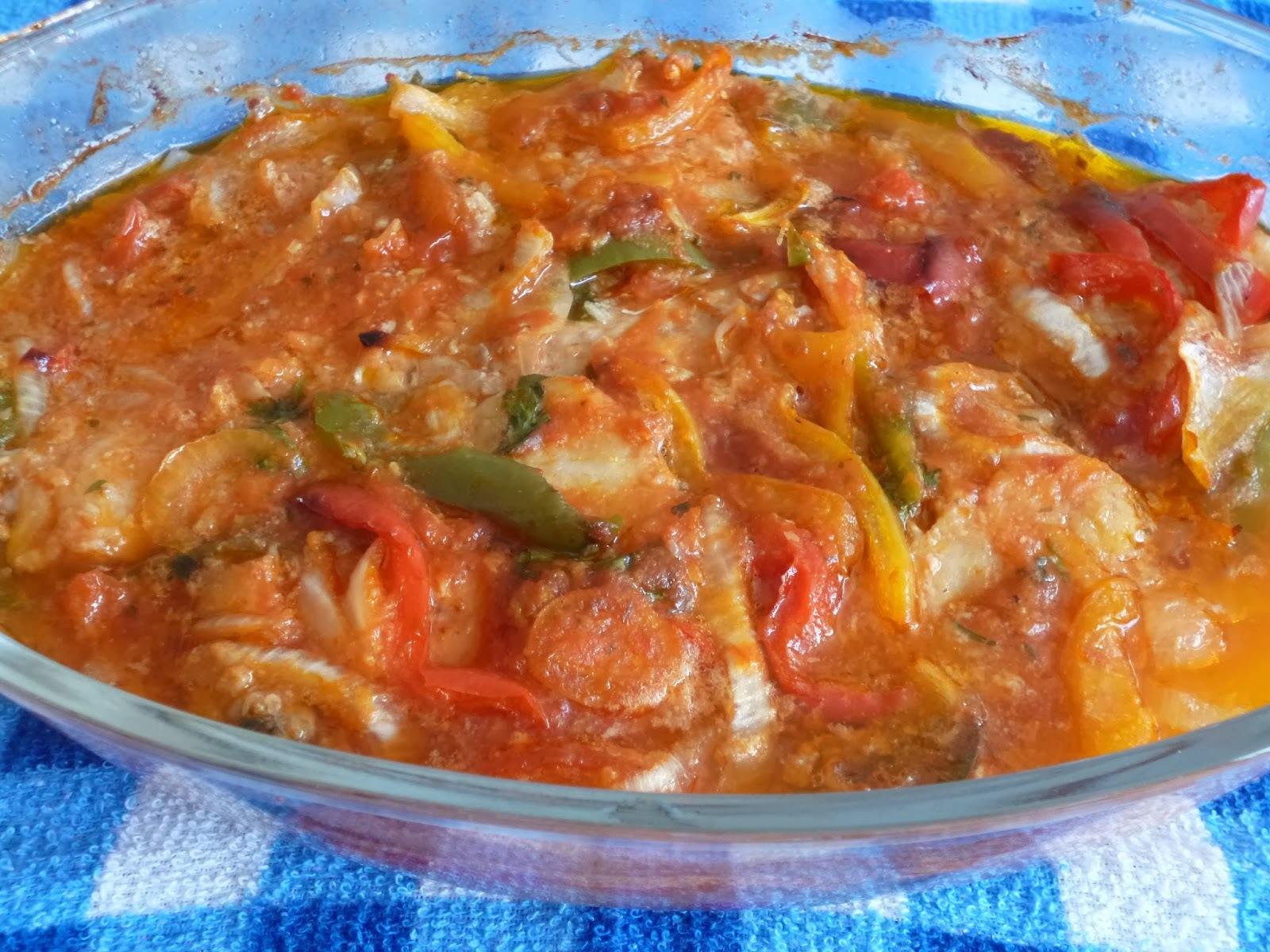 merluza cozida inteira