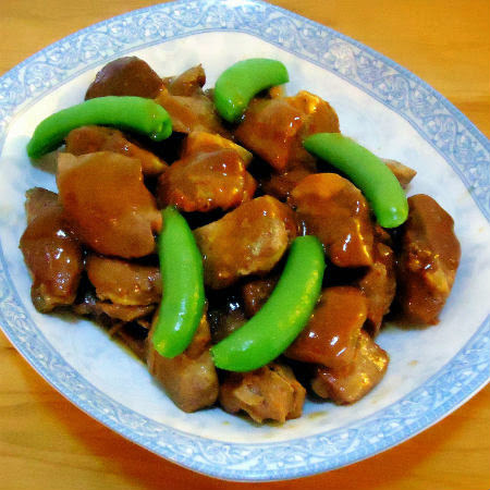 Slow-Cooker Five Spice Pork with Snap Peas