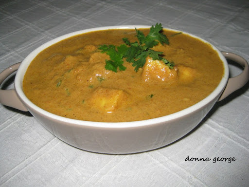 Paneer Curry - Kerala Style