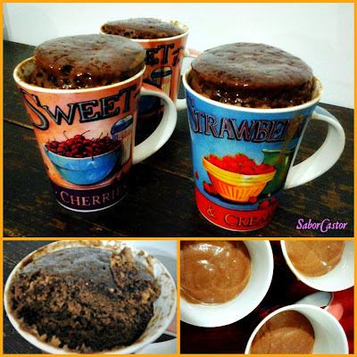 Bolo de Caneca de Chocolate Light