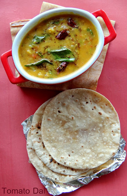 Tomato Dal/Tomato Dal Curry