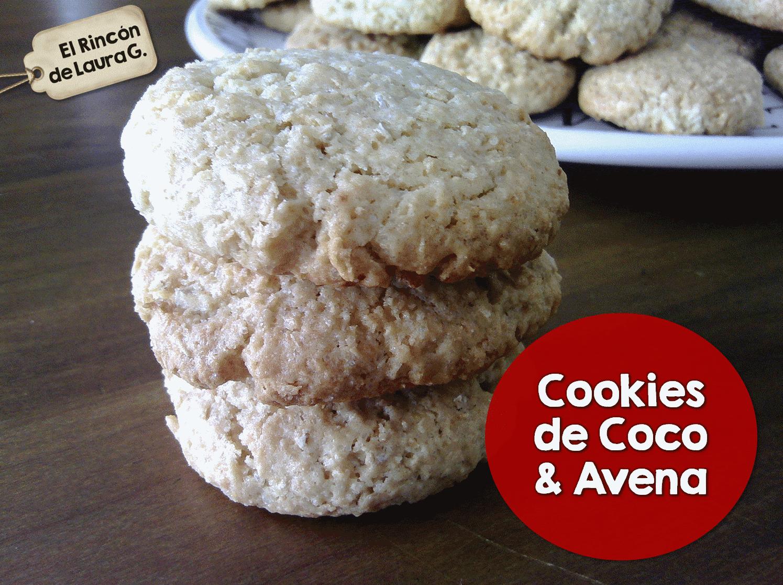 Cookies de Coco & Avena