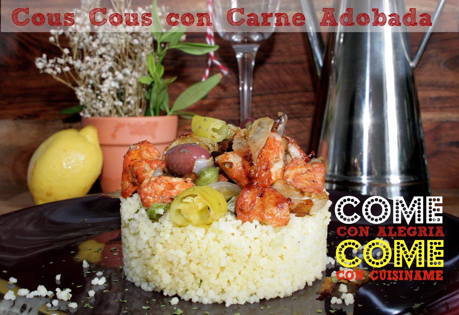 Cous Cous con Carne   Recetas Originales