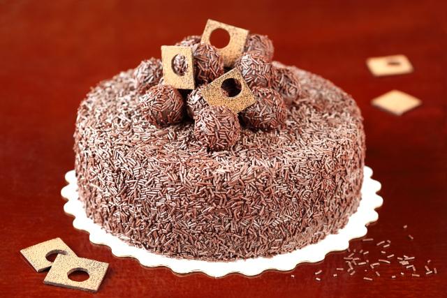 """Бразильский торт """"Brigadeiro"""" / Bolo Brigadeiro"""