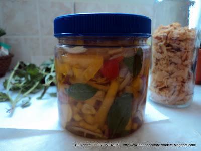 cebola em conserva com pimentao tempo de conserva