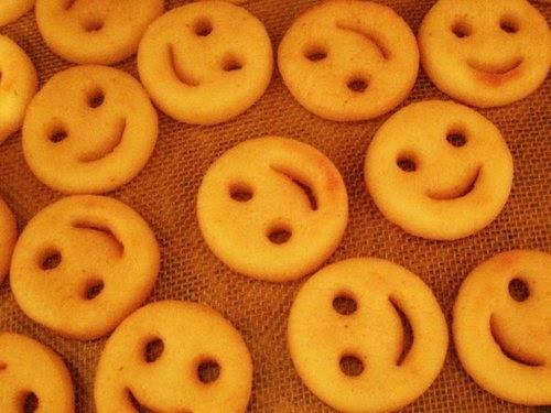 Batata (smile) divertida {Culinária pra Crianças}