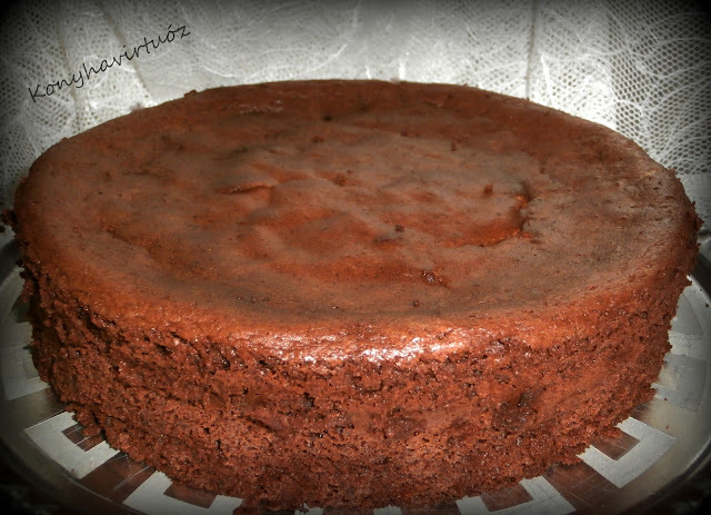 Csokitorta liszt nélkül - blogszülinapra