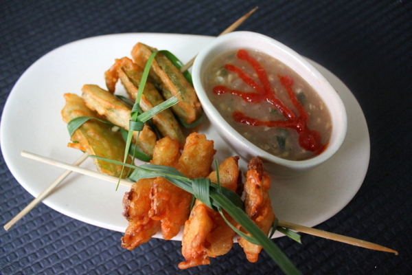 how to make chinese pakora
