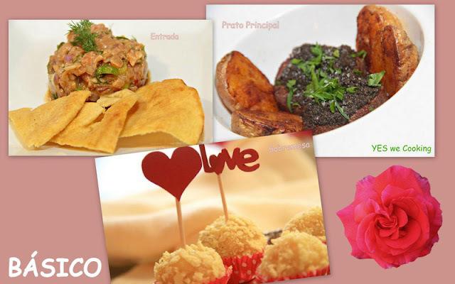 Sugestões de Menu para o Dia dos Namorados