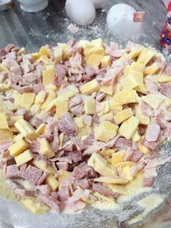 Muffin Salgado (opção sem lactose)