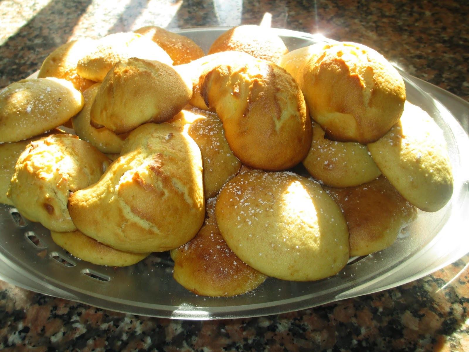 Broas de batata doce- Receita bimby e tradicional. TeleCulinária nº 1870