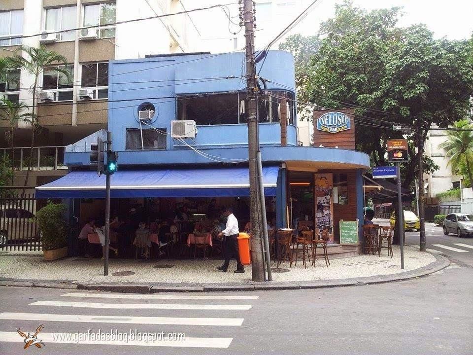 Veloso Bar: Tradicional bar da boemia carioca