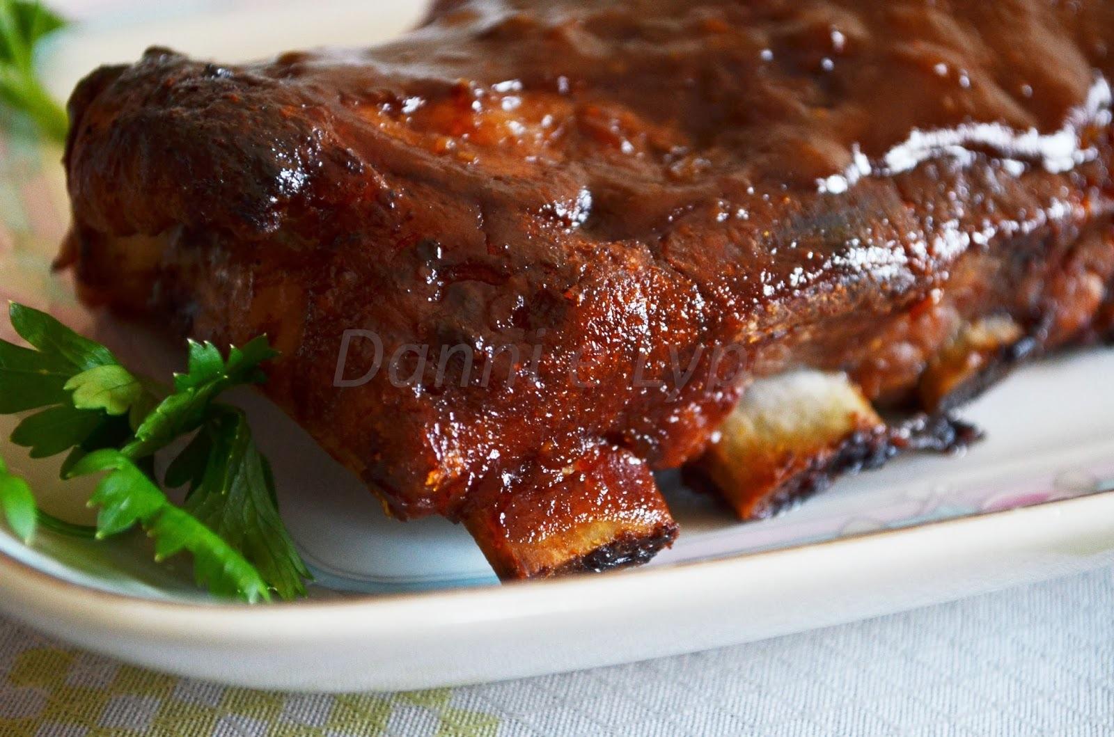 de costelinha de porco com molho madeira