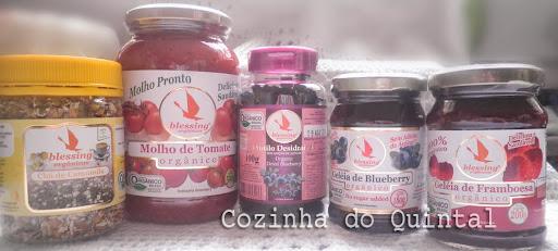 Blessing Orgânicos na Cozinha do Quintal