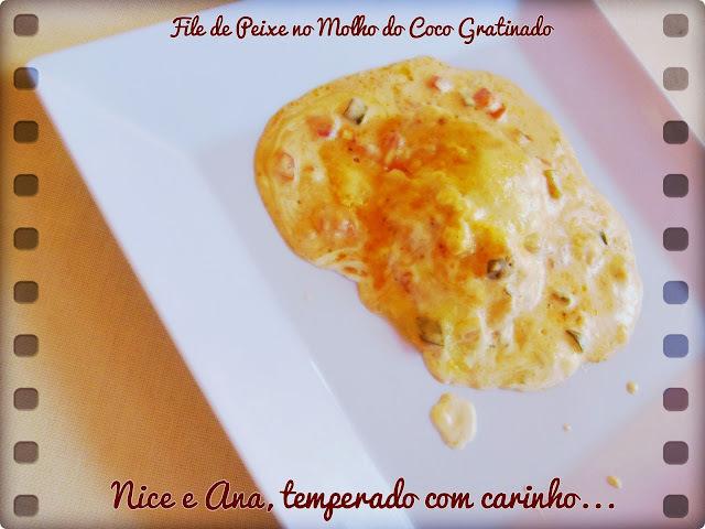 de filé de merluza ao forno com pure de batata