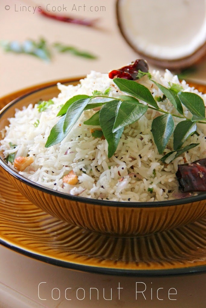 Coconut Rice/ Thengai Sadam