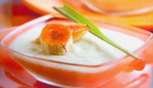 bananos con crema de leche nestle faciles de preparar