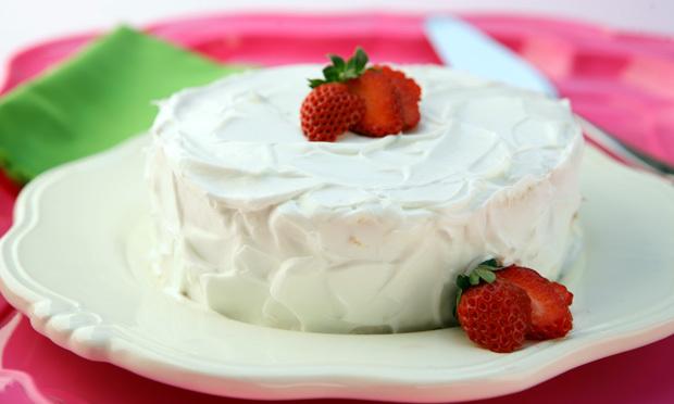 massa de bolo com emulsificante no liquidificador