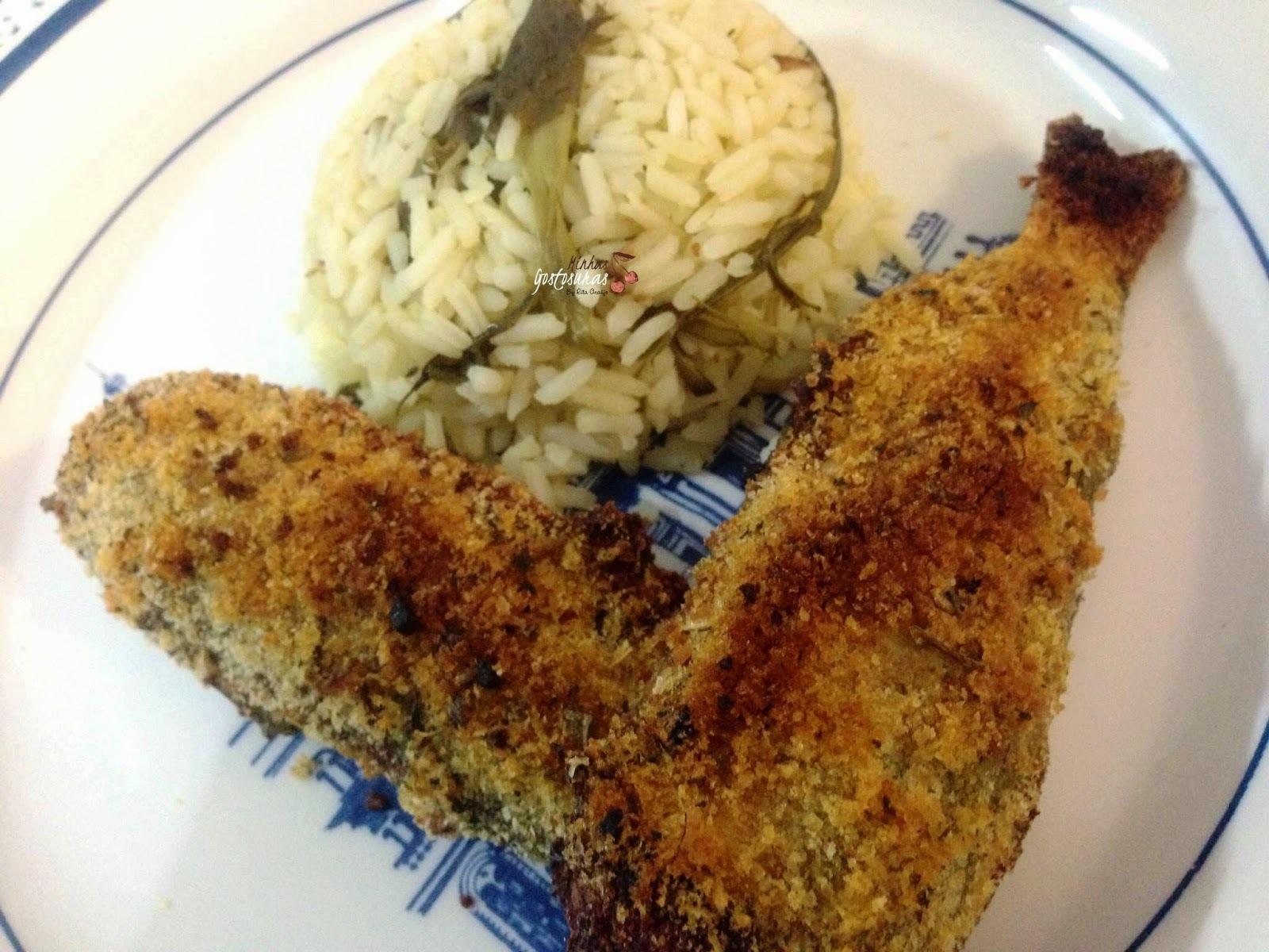 como deixar peixe crocante crocante