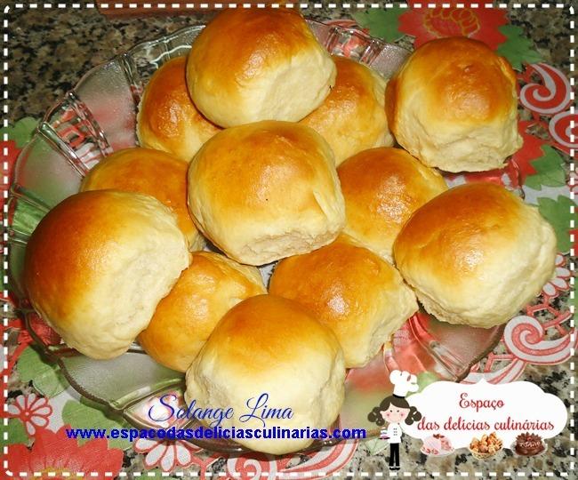 Pãozinho de leite condensado, feito na MFP