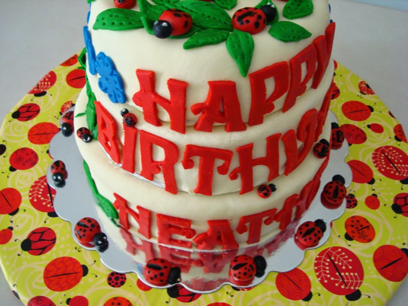 Bolo de aniversario coberto com pasta de leite em po- parte 1 - o bolo