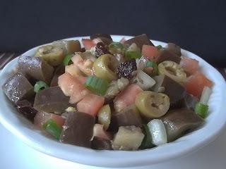 de salada de berinjela rapida e saborosa