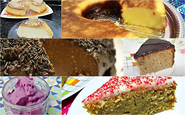 7 sobremesas fáceis de liquidificador